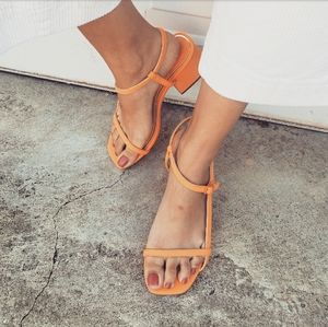 🆕️//Mis Amores Collection//Orange heel